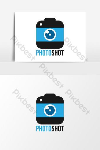صورة شعار الكاميرا لقطة صور PNG قالب AI