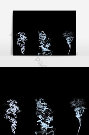 efecto de humo Elementos graficos Modelo PSD