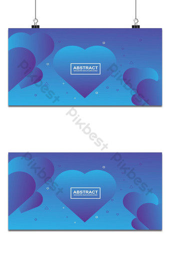 diseño de fondo degradado de color amor diseño de fondo abstracto Fondos Modelo AI