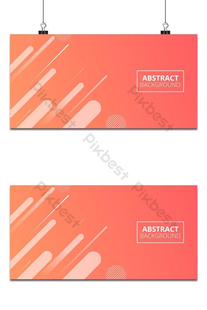orange gradient geometric shape hintergrund