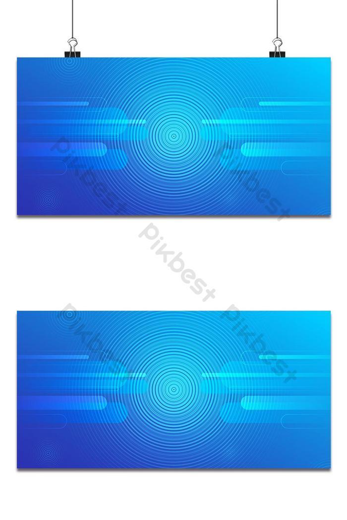 동그라미 추상적 인 디자인으로 파란색 배경