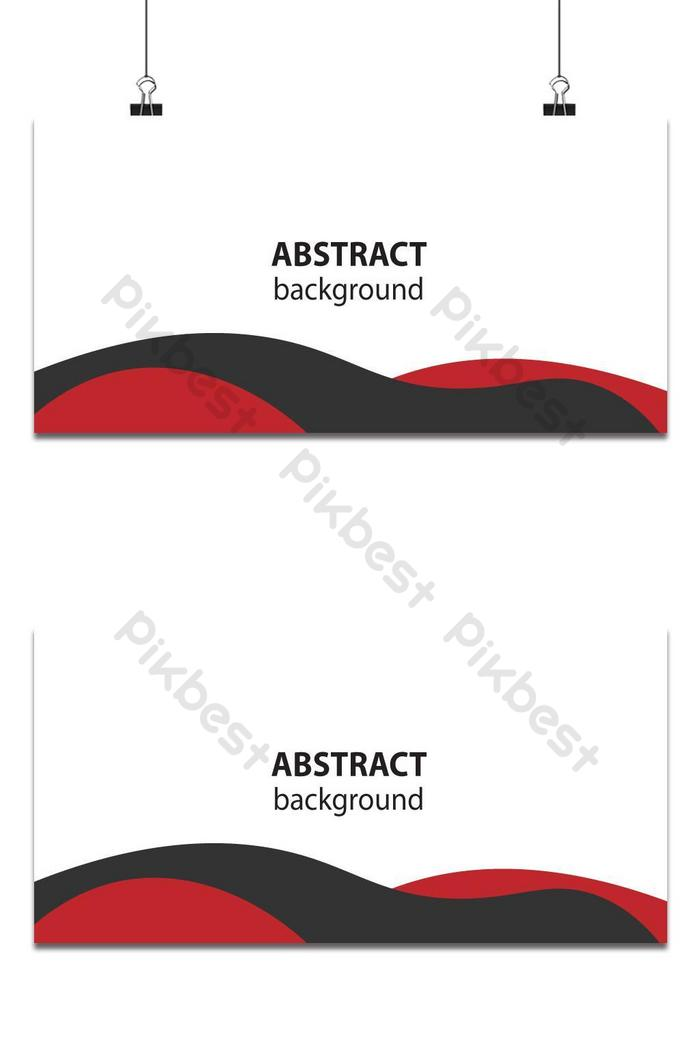 streszczenie tło z falami kolor czerwony i czarny