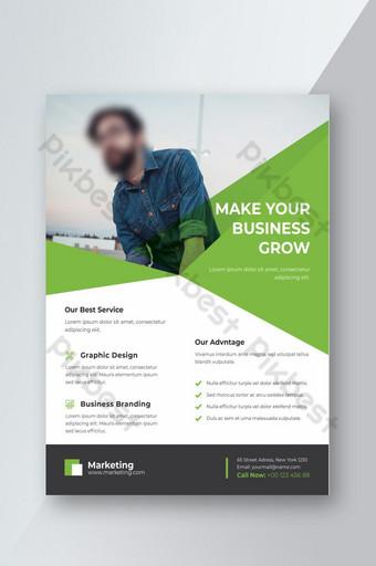 公司業務傳單 模板 PSD
