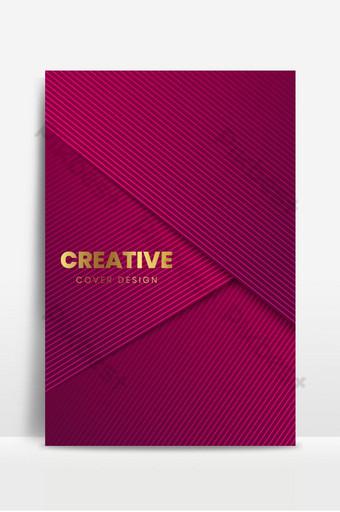 fondo de cubierta de lujo rojo plantilla de diseño de cubierta mínima Fondos Modelo EPS