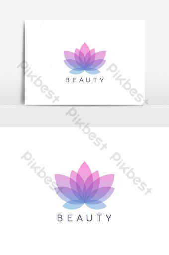 plantilla de vector de diseño de logotipo de flor moderna Elementos graficos Modelo EPS
