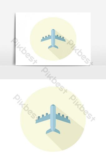 icono de avion Elementos graficos Modelo EPS