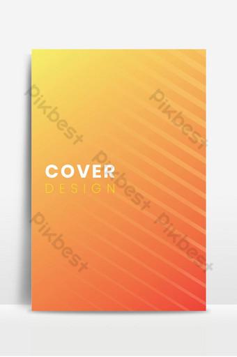 Modèle de conception de couverture minimale sertie de lignes abstraites Fond Modèle EPS