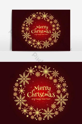عيد ميلاد سعيد بطاقة جميلة خلفية دائرية صور PNG قالب AI