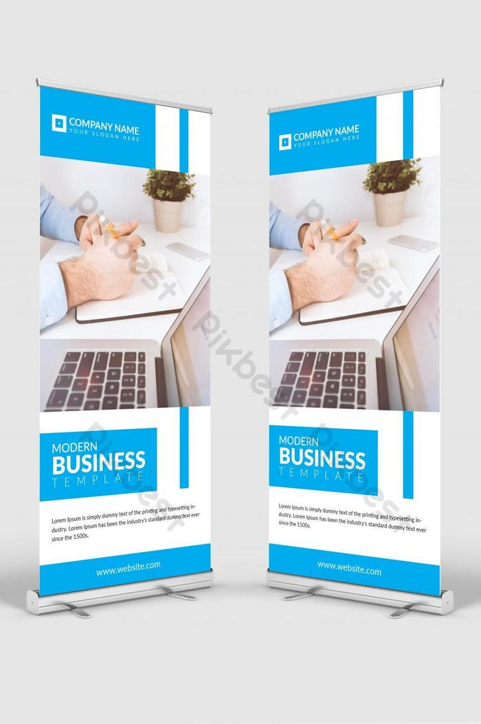 banner corporativo roll up signage banner vector standee