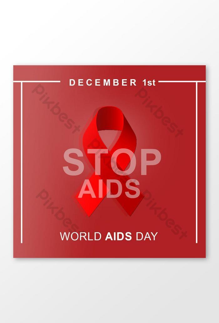 Баннер в социальных сетях Всемирного дня борьбы со СПИДом
