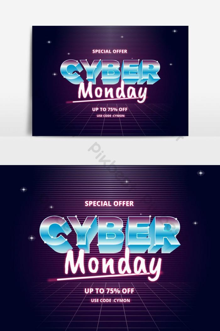 cyber poniedziałek sprzedaż koncepcja futuryzmu