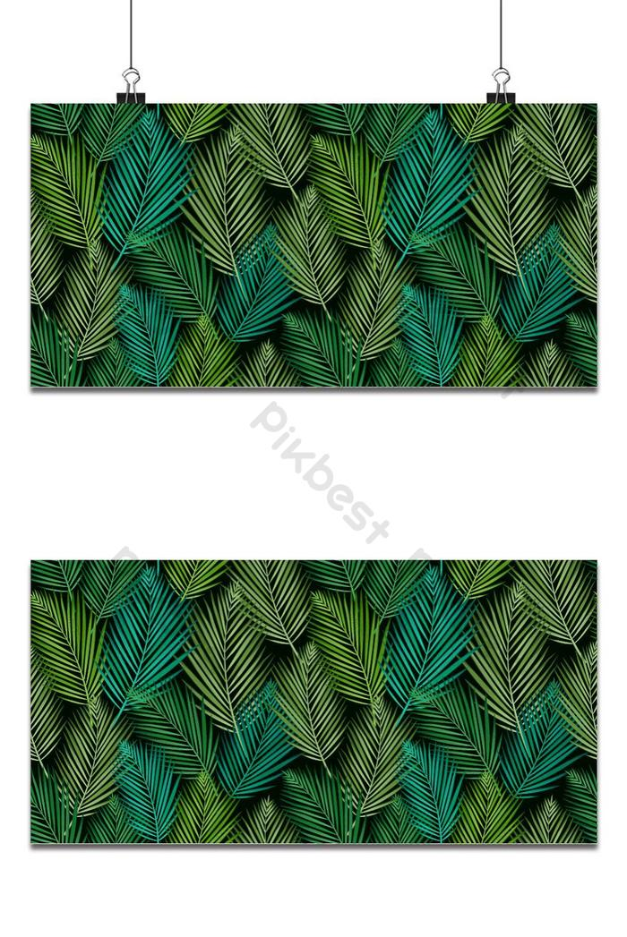 Seamless Pattern With Tropical Leaves Palms Monstera Jungle Leaf Seamless Vector Backgrounds Eps Free Download Pikbest Tropical leaves vector art pack. palms monstera jungle leaf seamless