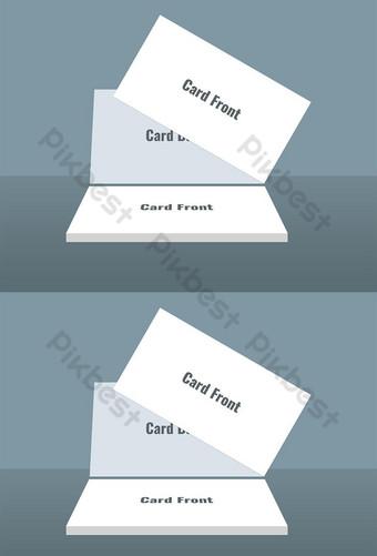 Modèle PSD de maquette de carte de visite minimale Modèle PSD
