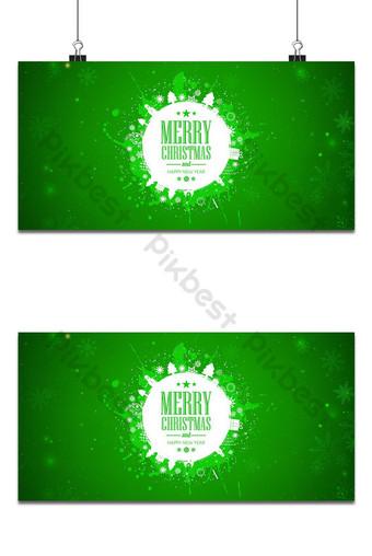 عيد الميلاد اللون الأخضر تصميم الخلفية خلفيات قالب AI
