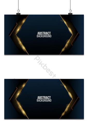 Fondo de lujo dorado abstracto con formas de papeles textura realista con semitono dorado Fondos Modelo AI