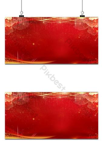 fondo rojo dorado claro de lujo Fondos Modelo PSD