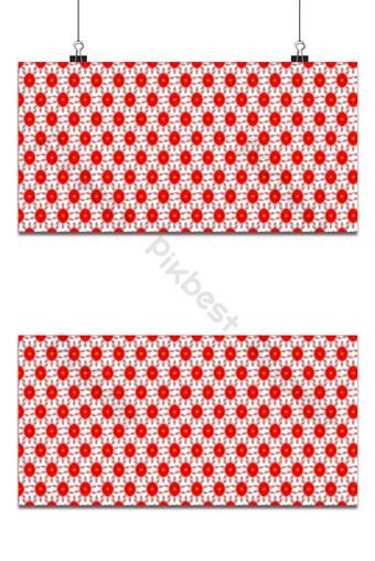 fondo de patrón rojo tipo floral Fondos Modelo AI