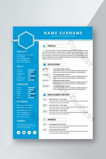 Thiết kế mẫu CV sơ yếu lý lịch chuyên nghiệp Word Bản mẫu DOC