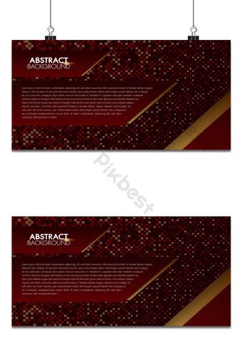 textura de fondo abstracto rojo estilo de semitono diseño de estilo moderno para texto y mensaje Fondos Modelo AI