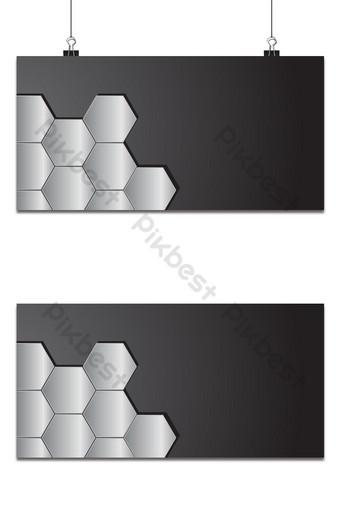 Diseño de fondo de metal con formas geométricas. Fondos Modelo AI