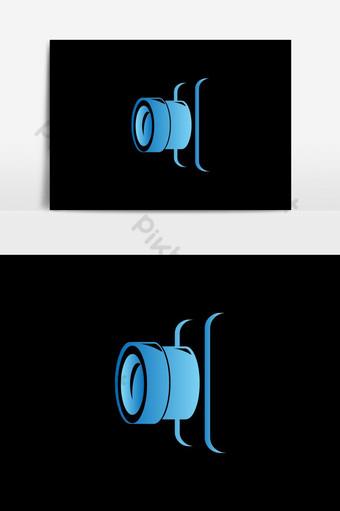 icono de fotografía logo símbolo diseño vectorial Elementos graficos Modelo AI