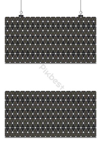 patrón geométrico sin costuras con líneas finas entrelazadas triángulo patrón hexagonal Fondos Modelo EPS