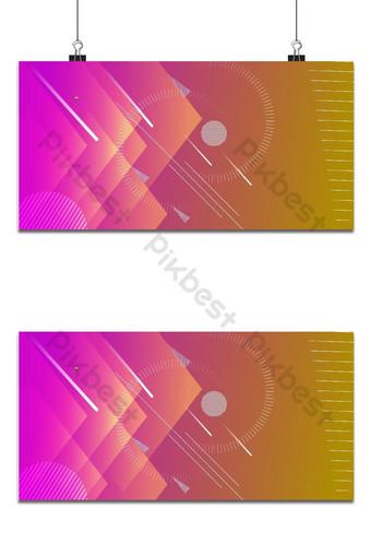 conception de vecteur minimal coloré abstrait art de présentation géométrique Fond Modèle AI