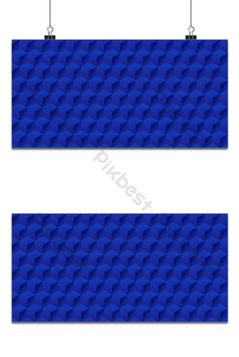 Seamless geometric 3d pattern, hexagon pattern, blue pattern with cubes, vector Backgrounds Template EPS