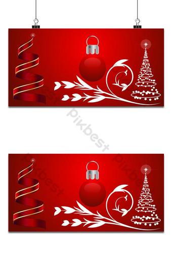 feliz navidad bola con cinta floral vector textura fondo ai Fondos Modelo AI