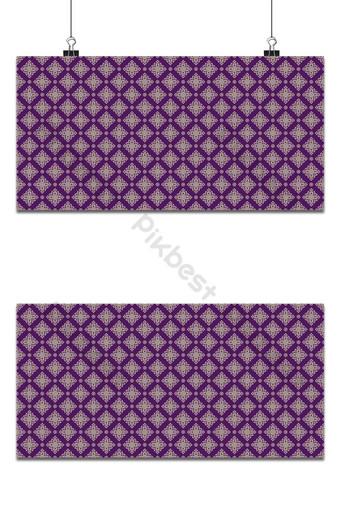 patrón de oro tailandés de línea perfecta sobre fondo púrpura las artes de tailandia patrón tailandés Fondos Modelo EPS