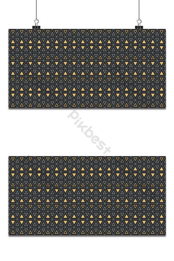 Seamless geometric pattern with bold triangle and interweaving thin lines, hexagon pattern Backgrounds Template EPS
