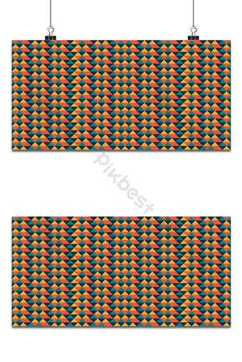 patrón geométrico sin costuras con rayas y triángulos de fondo abstracto geométrico Fondos Modelo EPS