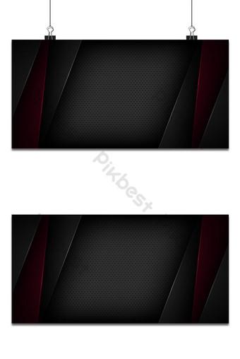Fondo de vector abstracto negro con características superpuestas Fondos Modelo EPS