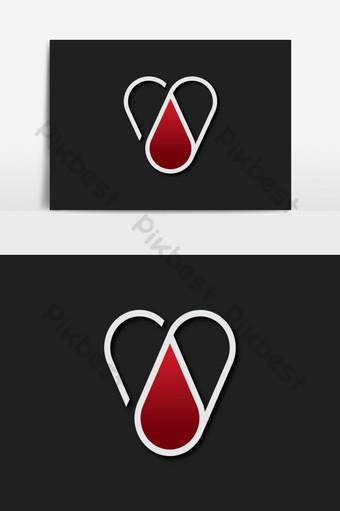logotipo de vector médico creativo Elementos graficos Modelo AI