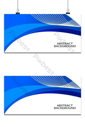 plantilla de fondo abstracto azul Fondos Modelo AI