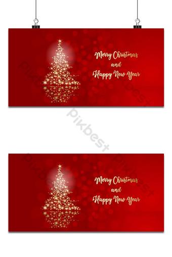 Joyeux Noël Illustration pour carte de voeux Fond Modèle AI