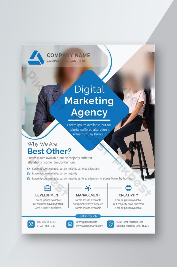 Corporate Business Flyer Design Templates Ai file ...