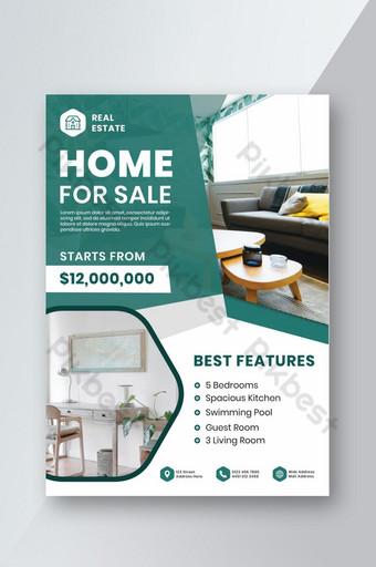 Modèle de Flyer moderne de maison à vendre Modèle PSD
