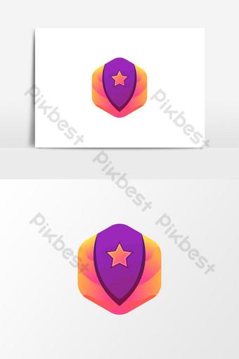 Security Service Logo Design PNG Images Template AI