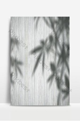 Fondo de textura de madera blanca de superposición de sombras Fondos Modelo PSD