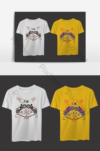 soy jinete aventura camiseta diseño elemento gráfico plantilla ai Elementos graficos Modelo EPS