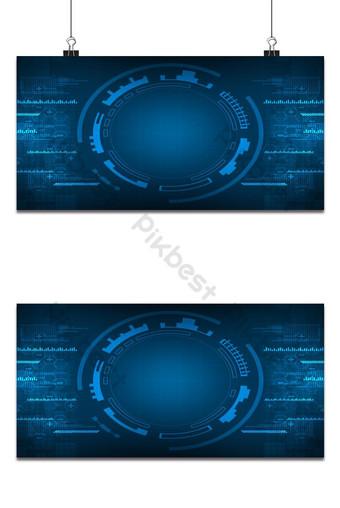 vector de fondo abstracto muestra la innovación de la tecnología y los conceptos de tecnología Fondos Modelo EPS
