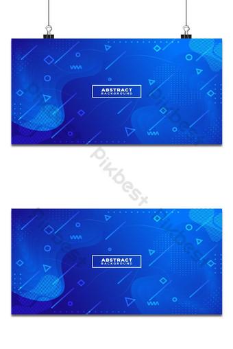 Fondo degradado azul fluido abstracto composición de formas líquidas Fondos Modelo AI