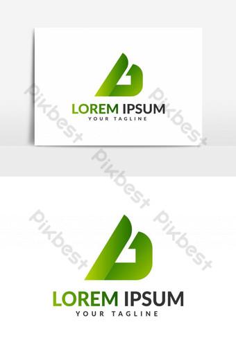 logo huruf d template logo huruf d Elemen Grafis Templat EPS