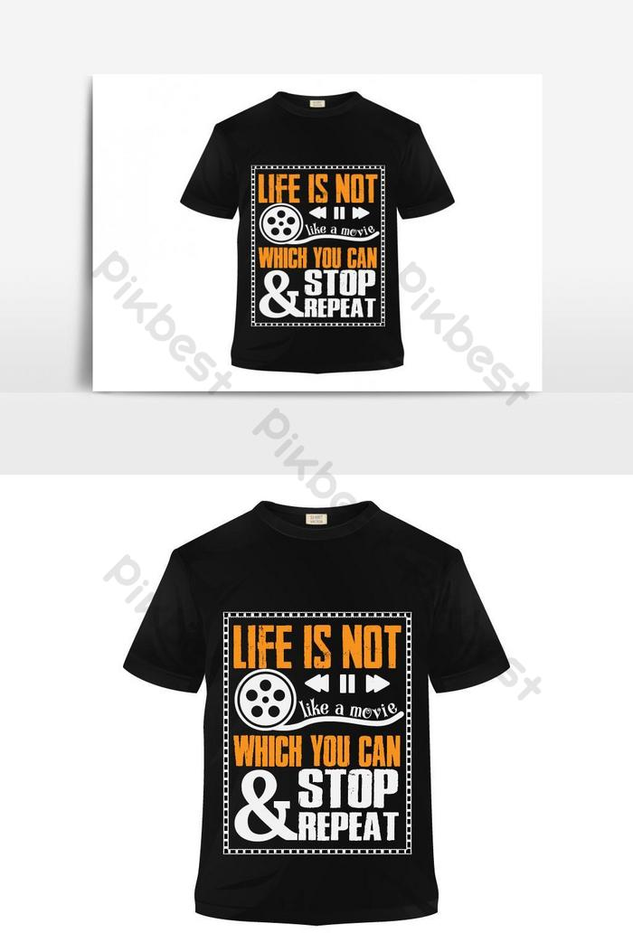 Movie Lovers T Shirt Design Free Download Emotional Quote T Shirt Design Free Download Png Images Ai Free Download Pikbest