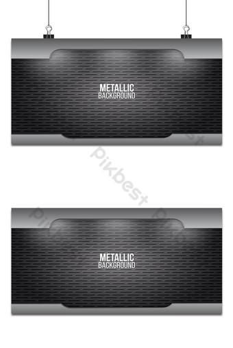 textura de fondo de metal placas de acero de aluminio diseño abstracto plantilla de vector Fondos Modelo AI