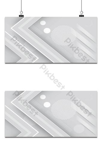 fondo de tecnología moderno gris brillante decoración geométrica Fondos Modelo EPS