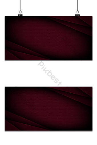 Fondo de vector abstracto rojo con características superpuestas Fondos Modelo EPS