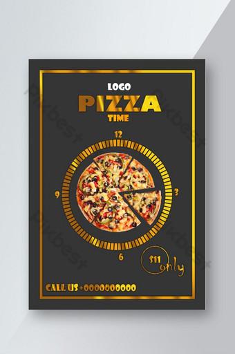 Modèle de flyer spécial pizza Modèle PSD
