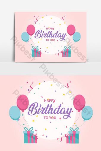عيد ميلاد سعيد تحية بطاقة ناقلات عنصر الرسم 4 صور PNG قالب AI